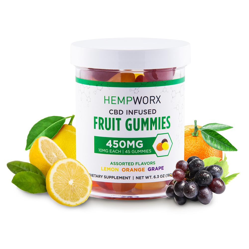 HempWorx CBD Gummy Bears
