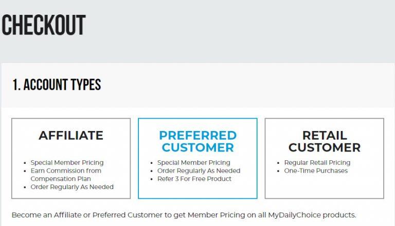 HempWorx Affiliate or HempWorx Preferred Customer