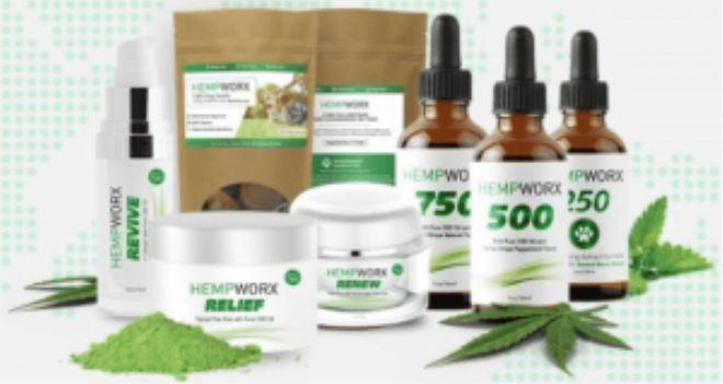 HempWorx CBD Oil Products
