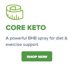Core Keto BHB Spray Popout