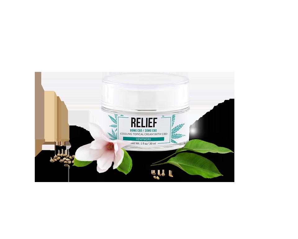 HempWorx Relief Cream CBD Salve